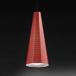 ARTEMIDE NULL VECTOR ALFA RED 0940010A lampy wiszące