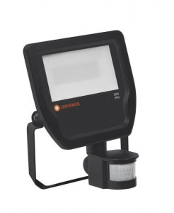 Ledvance Floodlight 20W/3000K BK 100DEG Sensor IP65    4058075143531