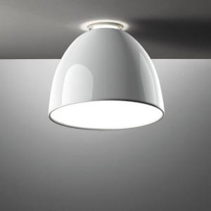 ARTEMIDE NUR GLOSS mini soffitto LED A246600 plafon