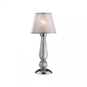 IDEAL LUX  DOROTHY 035307 TL1 SMALL TRANSPARENTNA lampa stołowa