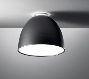 ARTEMIDE NUR mini soffitto LED GREY/ANTRACYT A246500 plafon