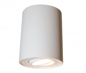 Mistic Lighting plafon Ecotube GU10 Biały mat MSTC-05411470