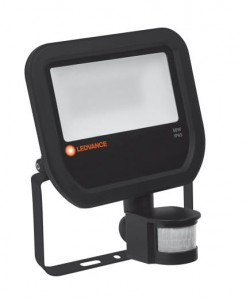 Ledvance Floodlight 50W/3000K BK 100DEG Sensor IP65    4058075143579