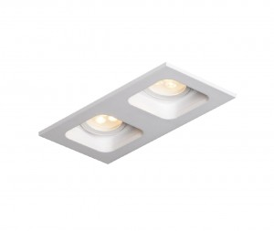 MISTIC LIGHTING DOUBLE MINIQUAD MR16 MATT WHITE MSTC-05355550 OPRAWA DOWNLIGHT PYTAJ O RABAT !