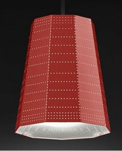 ARTEMIDE NULL VECTOR BETA RED 0941010A lampy wiszące