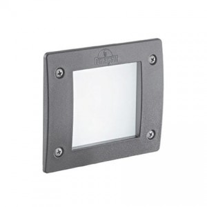 IDEAL LUX LETI 96599 FL1 square grigio oprawy led