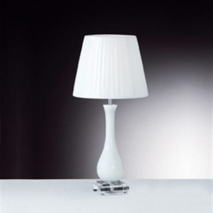 IDEAL LUX  LILLY 026084 TL1 BIANCO lampa stołowa