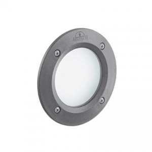 IDEAL LUX LETI 96568 FL1 round grigio oprawy led