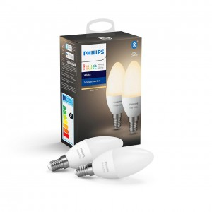 Philips Hue White żarówka LED (2xE14 B39 5.5W 470lm 2700K), BT 8718699671273