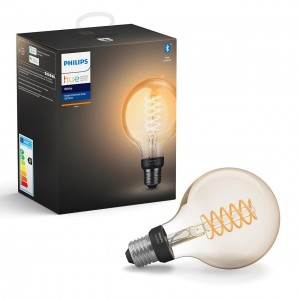 Philips Hue White żarówka E27 G93 filament 7W 550lm 2100K, BT 8718699688882