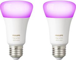 PHILIPS HUE WHITE AND COLOR AMBIANCE 8718696729052 ZESTAW ŻARÓWEK 9.5W LED E27 2XE27